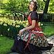 """Платья ручной работы. Ярмарка Мастеров - ручная работа. Купить Платье в бохо-стиле """"Яркое лето"""". Handmade. Цветы, цветочный"""