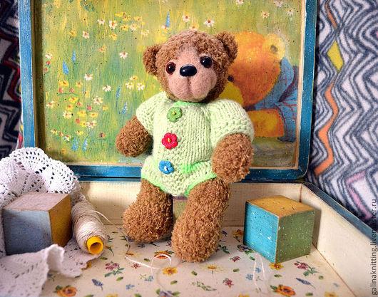 Мишки Тедди ручной работы. Ярмарка Мастеров - ручная работа. Купить Мишка по имени Веснушка. Handmade. Коричневый, забавный подарок
