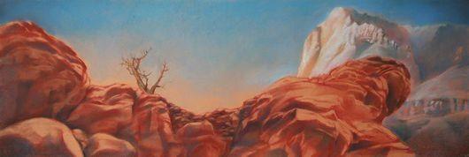 """Пейзаж ручной работы. Ярмарка Мастеров - ручная работа. Купить Картина """"Большой Каньон Колорадо - 2"""". Handmade. Большой каньон"""