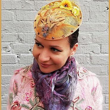Аксессуары ручной работы. Ярмарка Мастеров - ручная работа Шляпки-вуалетки - разных цветов и декора. Handmade.
