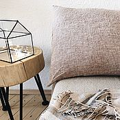 Для дома и интерьера handmade. Livemaster - original item Pillowcase. 100% linen. Softened. The envelope. Eco.. Handmade.