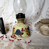 handmade. Livemaster - original item Kerosene lamp and napkin holder in gift Folk motifs. Handmade.