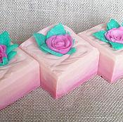 Косметика ручной работы. Ярмарка Мастеров - ручная работа Розовый сад. Натуральное мыло.. Handmade.