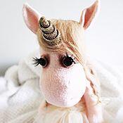 """Куклы и игрушки ручной работы. Ярмарка Мастеров - ручная работа Единорожка """"Angel"""". Handmade."""
