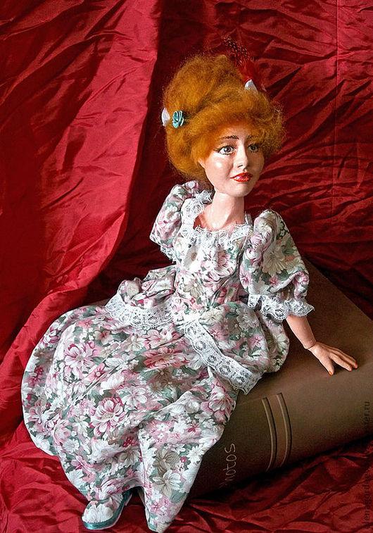 Коллекционные куклы ручной работы. Ярмарка Мастеров - ручная работа. Купить Аристократка Луиза. Handmade. Шарнирная кукла, аристократка, романтика