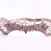 Украшения handmade. Livemaster - original item Crown with vine leaves. Handmade.