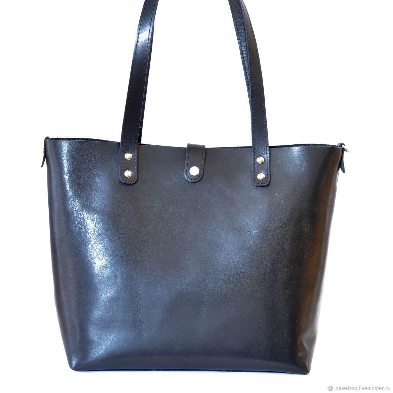 be0618adcf91 Женские сумки ручной работы. Ярмарка Мастеров - ручная работа. Купить  Кожаная сумка шоппер.