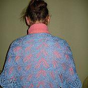 Аксессуары ручной работы. Ярмарка Мастеров - ручная работа шаль. Handmade.