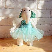 Куклы и игрушки ручной работы. Ярмарка Мастеров - ручная работа Слоник в мятном. Handmade.