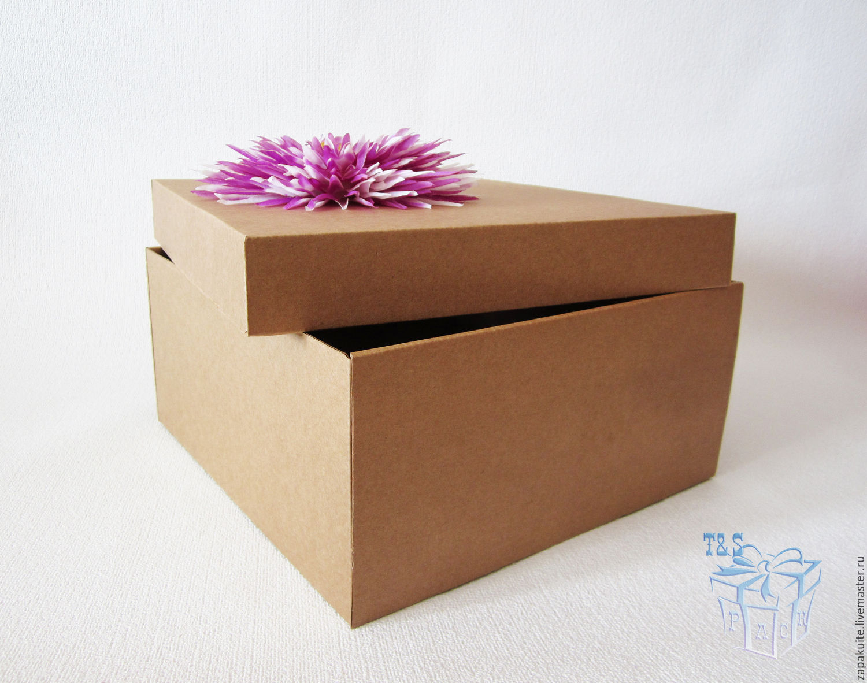 крафт коробки на заказ