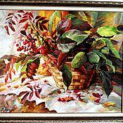 Картины ручной работы. Ярмарка Мастеров - ручная работа Картина маслом Краски осени. Handmade.