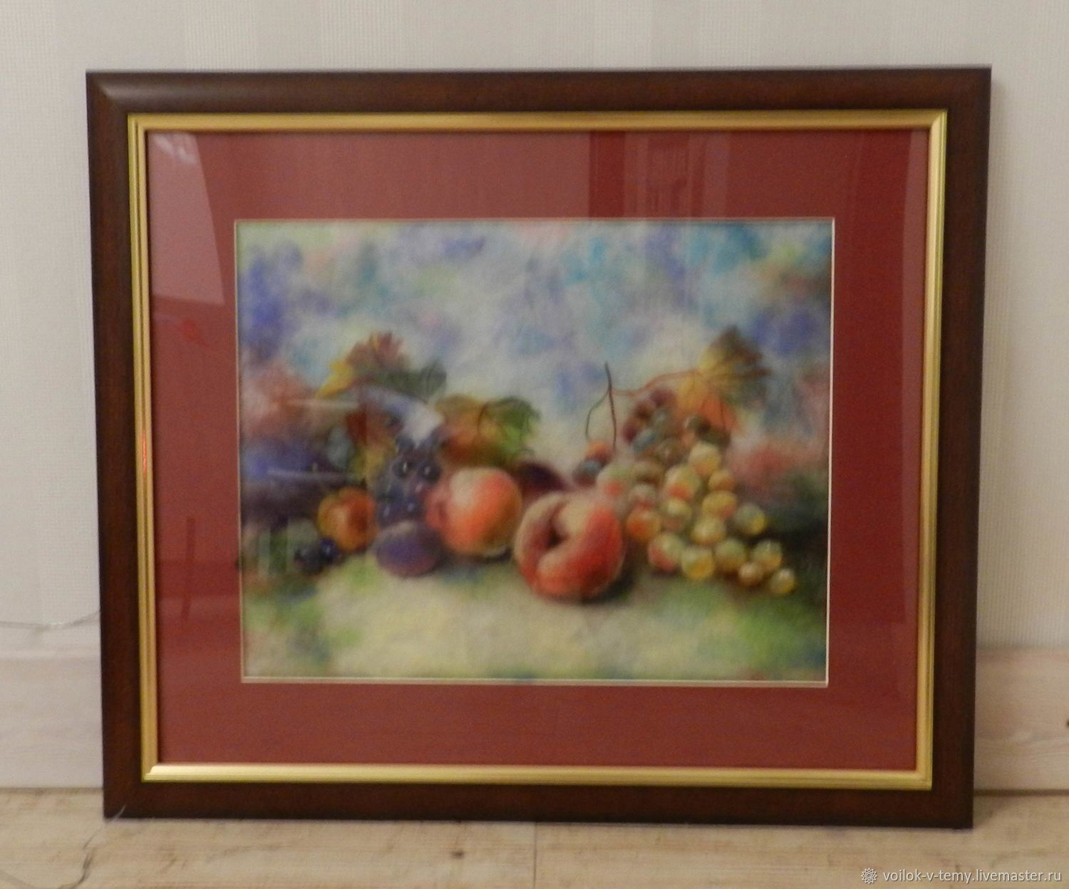 Watercolor wool. Still life with fruit, Pictures, Obninsk,  Фото №1