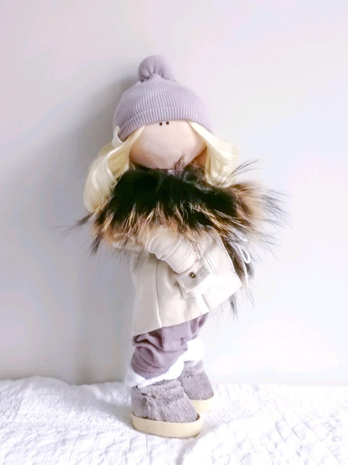 Текстильная кукла, Большеножка, Москва,  Фото №1