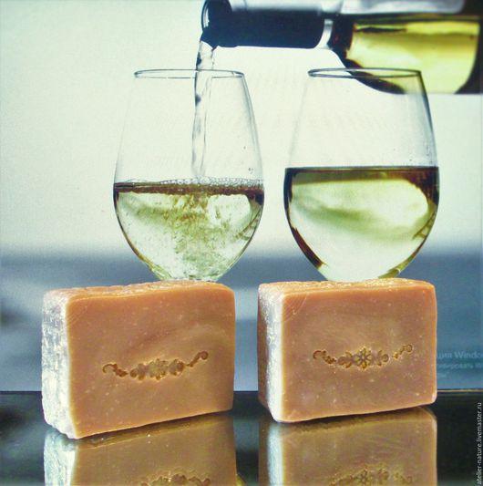 «Золотой мускат» мыло для волос и тела на белом вине, натуральное