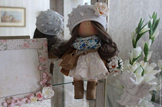 """Человечки ручной работы. Ярмарка Мастеров - ручная работа. Купить Текстильная кукла """"Софи"""". Handmade. Комбинированный, текстильная кукла купить"""