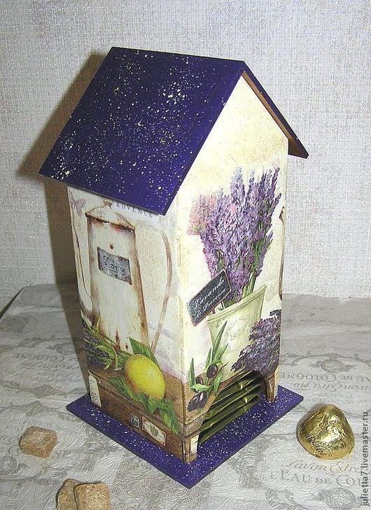 """Кухня ручной работы. Ярмарка Мастеров - ручная работа. Купить Чайный домик """"Яркий прованс"""". Handmade. Домик для чая"""