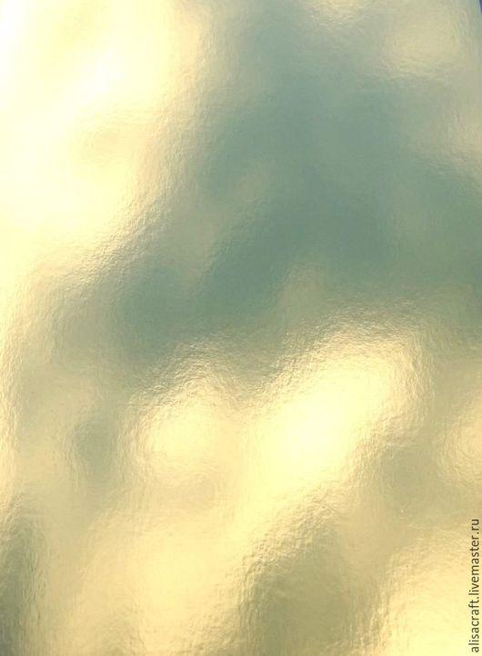 Бумага с золотым глянцевым покрытием, 15х25 см
