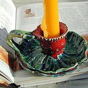 Для дома и интерьера ручной работы. Ярмарка Мастеров - ручная работа Красный репейник. Handmade.
