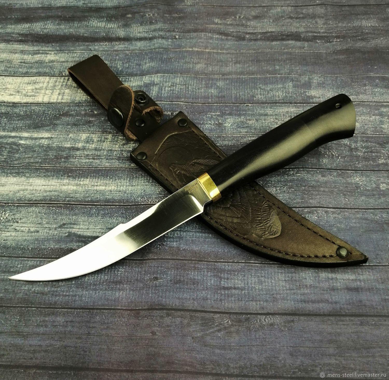 Нож ручной работы Осётр, кованая сталь 95х18, Ножи, Москва,  Фото №1