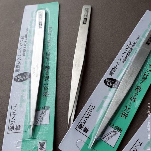 Инструмент для сборки бижутерии пинцет из нержавеющей стали
