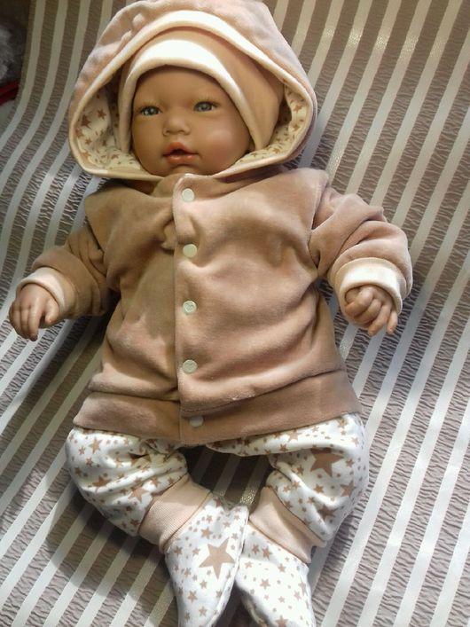 Одежда ручной работы. Ярмарка Мастеров - ручная работа. Купить Комплект одежды для новорожденных. Handmade. Комплект для девочки, комплект для мальчика