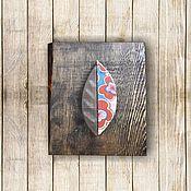 Картины и панно ручной работы. Ярмарка Мастеров - ручная работа Листок. Handmade.