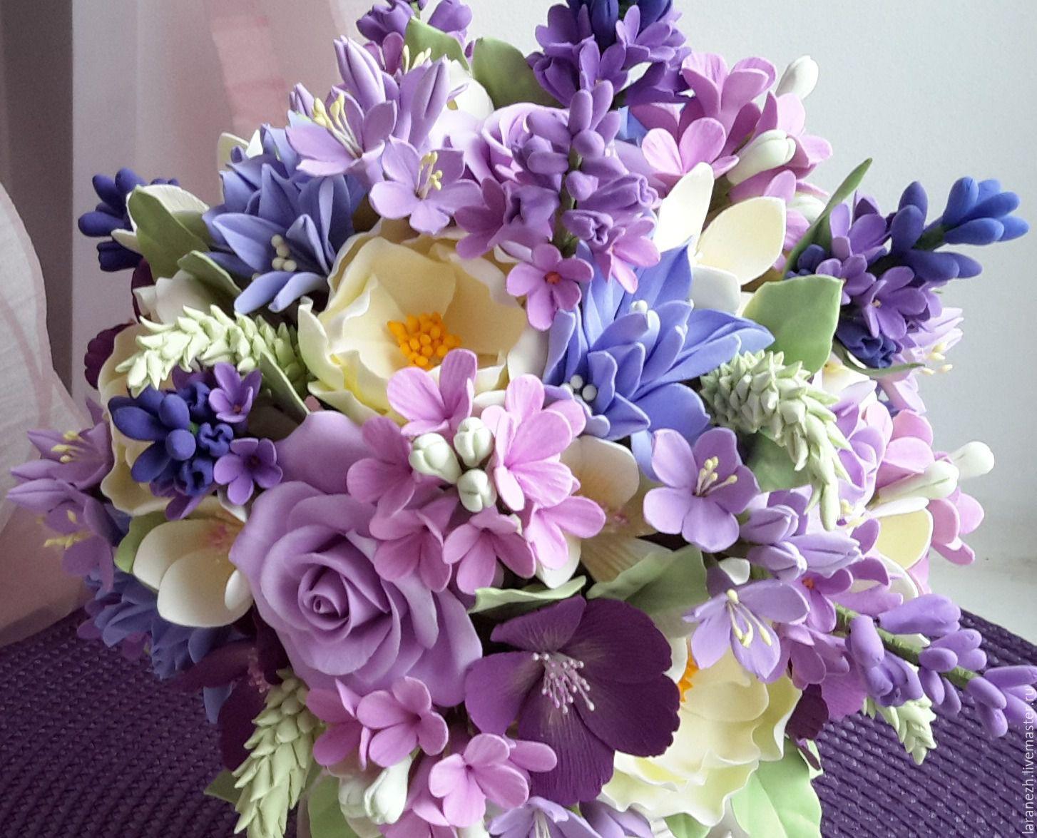 Фиолетовые цветы фото для букетов