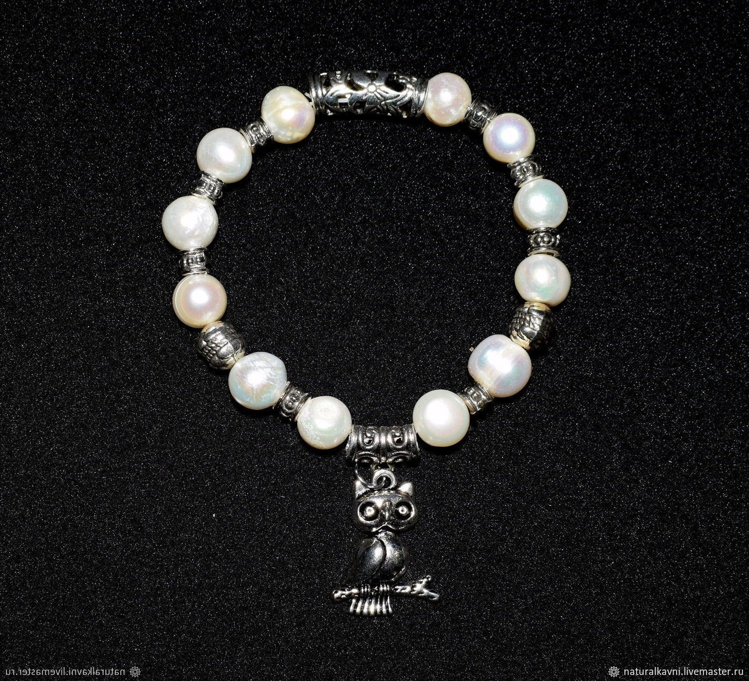 Bracelet made of natural Pearls (m), Bead bracelet, Moscow,  Фото №1