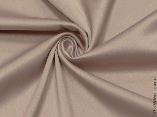 Шитье ручной работы. Ярмарка Мастеров - ручная работа. Купить ткань сатин костюмный чайная роза   со стрейчем. Handmade.