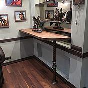 Столы ручной работы. Ярмарка Мастеров - ручная работа Барная стойка для кухни и гостиной. Handmade.