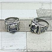 Материалы для творчества handmade. Livemaster - original item Ring base (12 and 1.5 mm) silver 12 microns. Handmade.