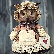 Куклы и игрушки ручной работы. Ярмарка Мастеров - ручная работа Сова.. Handmade.