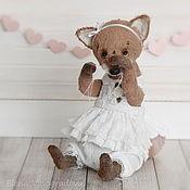 Куклы и игрушки ручной работы. Ярмарка Мастеров - ручная работа лиса Бетти. Handmade.