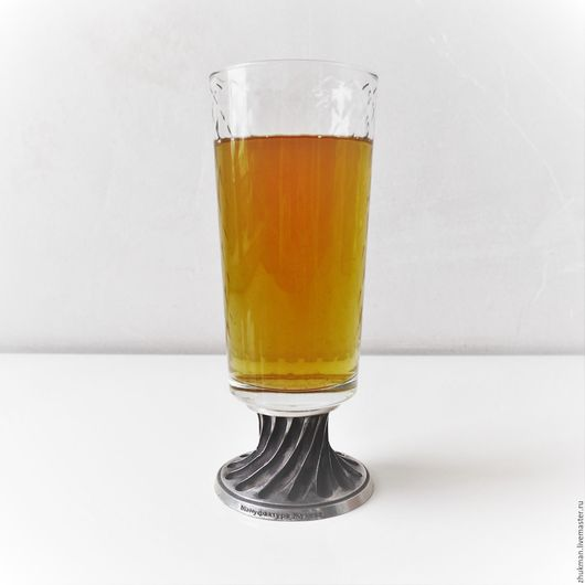 """Подарки для мужчин, ручной работы. Ярмарка Мастеров - ручная работа. Купить Пивной бокал """"УЗОРНЫЙ"""" 250 мл. Бокал для пива на ножке.. Handmade."""