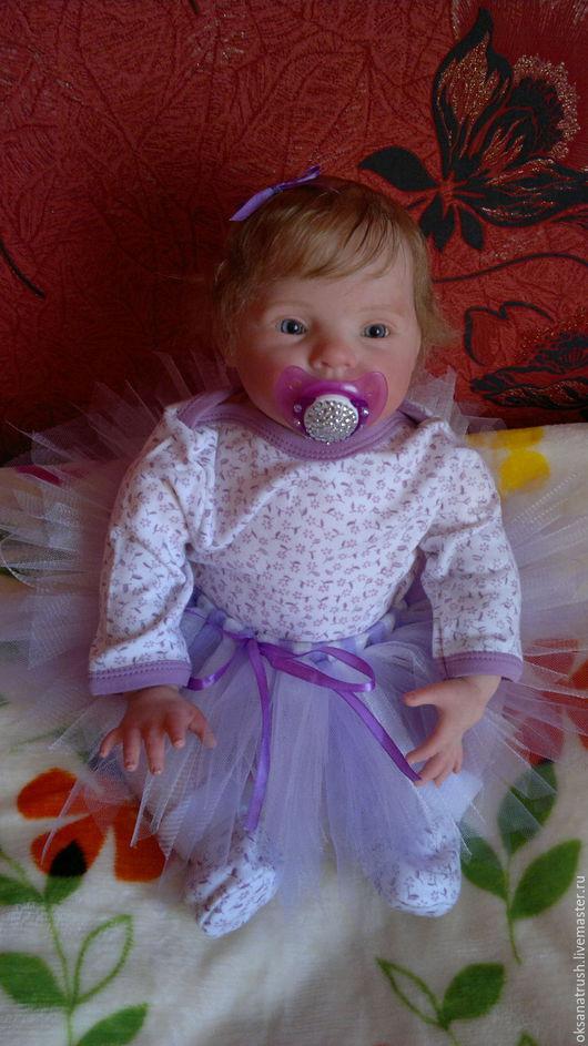 Куклы-младенцы и reborn ручной работы. Ярмарка Мастеров - ручная работа. Купить Кукла-реборн Милаша-2. Handmade. Разноцветный