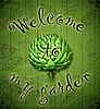 Welcome to my garden - Ярмарка Мастеров - ручная работа, handmade