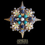 Украшения handmade. Livemaster - original item Brooch No. №2 from the collection of