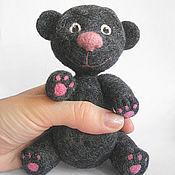 Куклы и игрушки ручной работы. Ярмарка Мастеров - ручная работа Серый мишутка. Handmade.