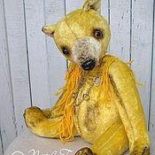 Куклы и игрушки ручной работы. Ярмарка Мастеров - ручная работа медведь Зигмунд. Handmade.