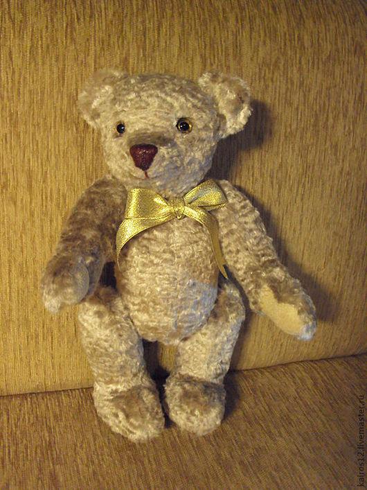 Мишки Тедди ручной работы. Ярмарка Мастеров - ручная работа. Купить Дашенька. Handmade. Кремовый, мягкая шерстка, Синтетический мех