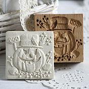 Для дома и интерьера ручной работы. Ярмарка Мастеров - ручная работа Тыква Джек форма для печатных пряников. Handmade.
