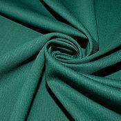 Материалы для творчества ручной работы. Ярмарка Мастеров - ручная работа Шерсть костюмно-плательная Salvatore Ferragamo изумрудно-зеленый. Handmade.