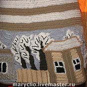 """Одежда ручной работы. Ярмарка Мастеров - ручная работа Жилет """"Вот моя деревня!"""". Handmade."""