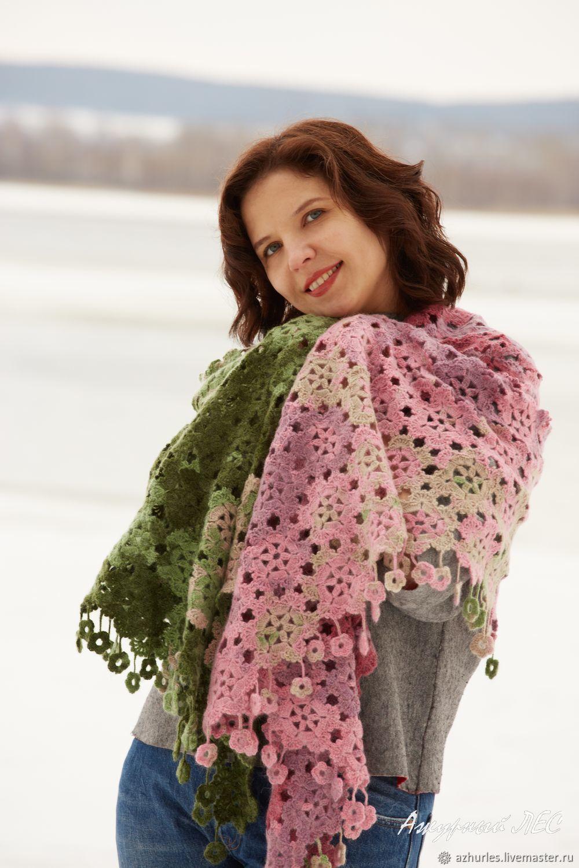 Cristmas gift scarf for women winter shawl oversized scarf, Wraps, Ekaterinburg,  Фото №1