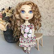 Куклы и игрушки ручной работы. Ярмарка Мастеров - ручная работа Марта. Текстильная кукла. Handmade.