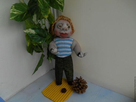 Человечки ручной работы. Ярмарка Мастеров - ручная работа. Купить Солдат ВДВ. Handmade. Кукла ручной работы, кукла в подарок