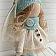 Коллекционные куклы ручной работы. Заказать Кукла-малыш Бирюзовый. **АSSORTIES** от Людмилы Сухановой. Ярмарка Мастеров. Кукла, куколка