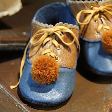 """Куклы и игрушки ручной работы. Ярмарка Мастеров - ручная работа Обувь для Антикварной и современной куклы """"Blue Pony"""". Handmade."""