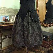 Одежда ручной работы. Ярмарка Мастеров - ручная работа Двусторонняя юбка баллон. Handmade.