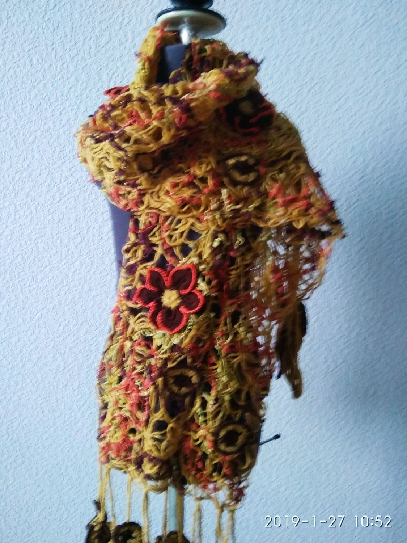 Шарф crazy wool, Шарфы, Санкт-Петербург,  Фото №1